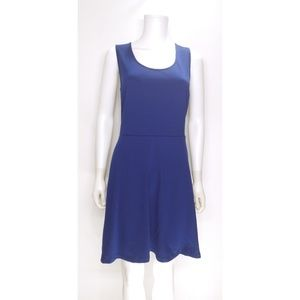 The Limited Blue Skater Dress Size Large